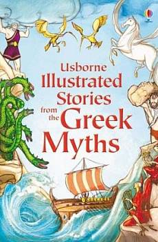 Книга Ilustrated stories from the Greek miths