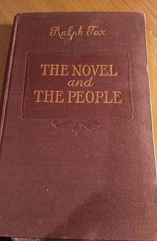 Книга The Novel and the people