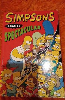 Simpsons spectacular comics