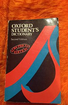 Книга Oxford student's dictionary