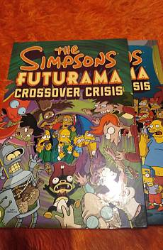 Книга The Simpsons Futurama crossover crisis