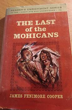 Книга The Last of the mohicans
