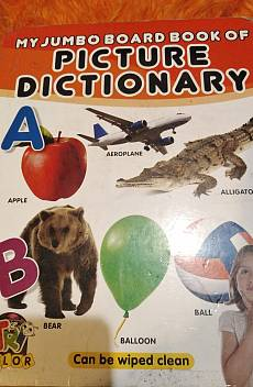 Книга My jumbo board book of picture dictionary