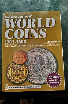 Книга World Coins 1701-1800