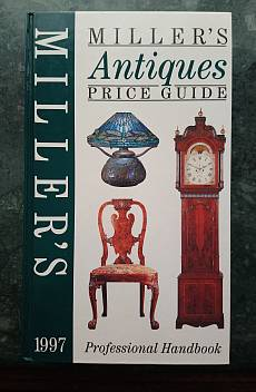 Книга Miller's Antiques price guide