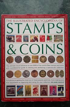 Книга The illustrated encyclopedia of Stamps & Coins