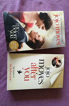 Книга Me before you and Me after you