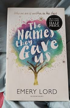 Книга The names they gave us