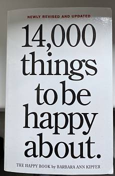 Книга 14000 things to be happy about