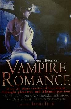Книга The Mammoth book of VAMPIRE ROMANCE