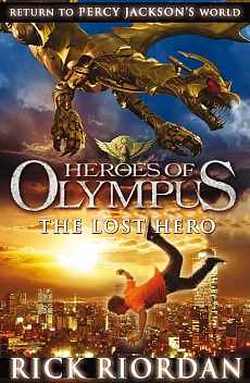 книга Heroes of Olympus: The lost hero