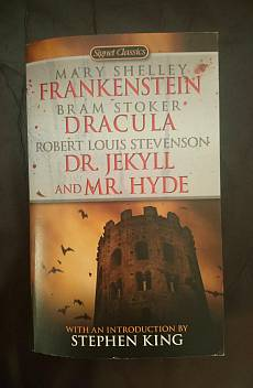 Frankenstein/Dracula/Dr. Jekyll & mr. Hyde